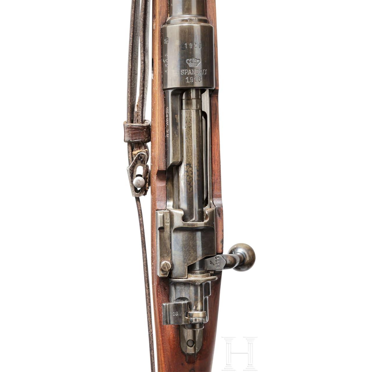Gewehr 98, Spandau 1916 - 1920, Reichswehr