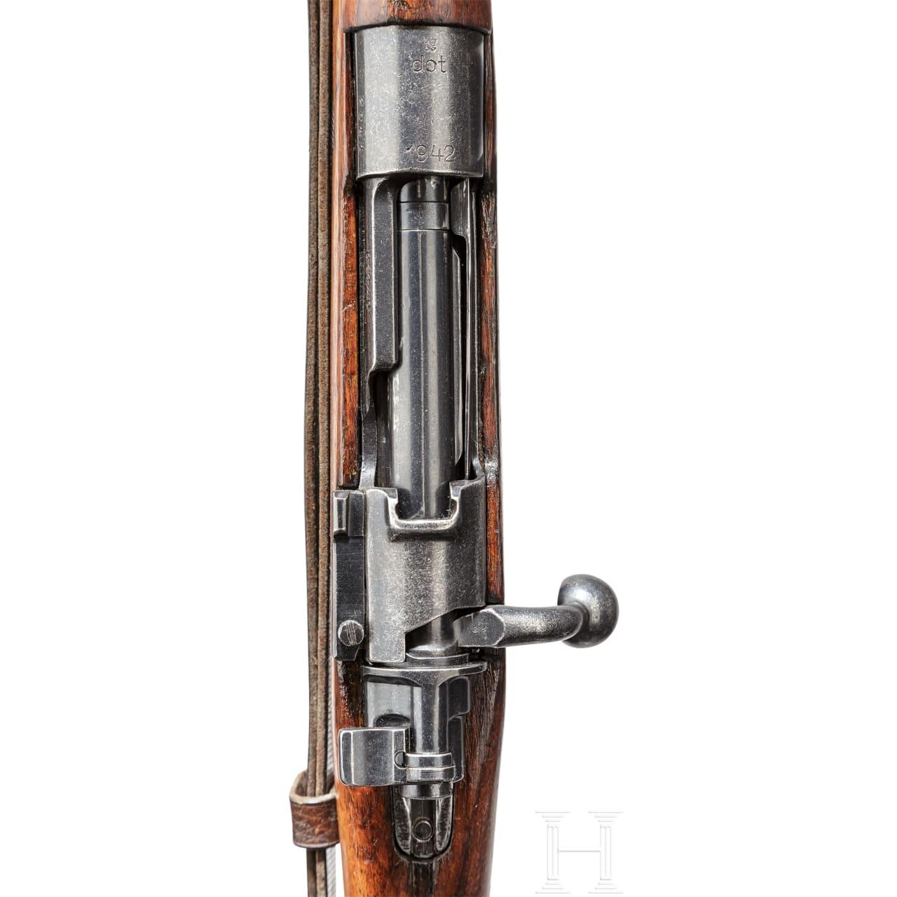 """Gebirgsjäger-Karabiner 33/40, Code """"dot - 1942"""""""