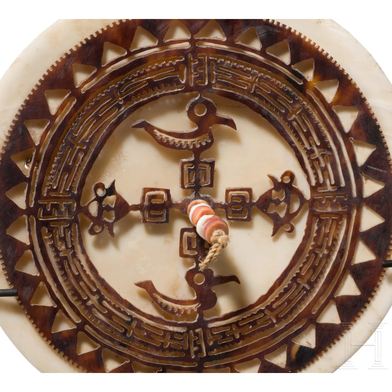 "A ""Dala"" or ""Kap Kap"" ornament from the Solomon Islands"