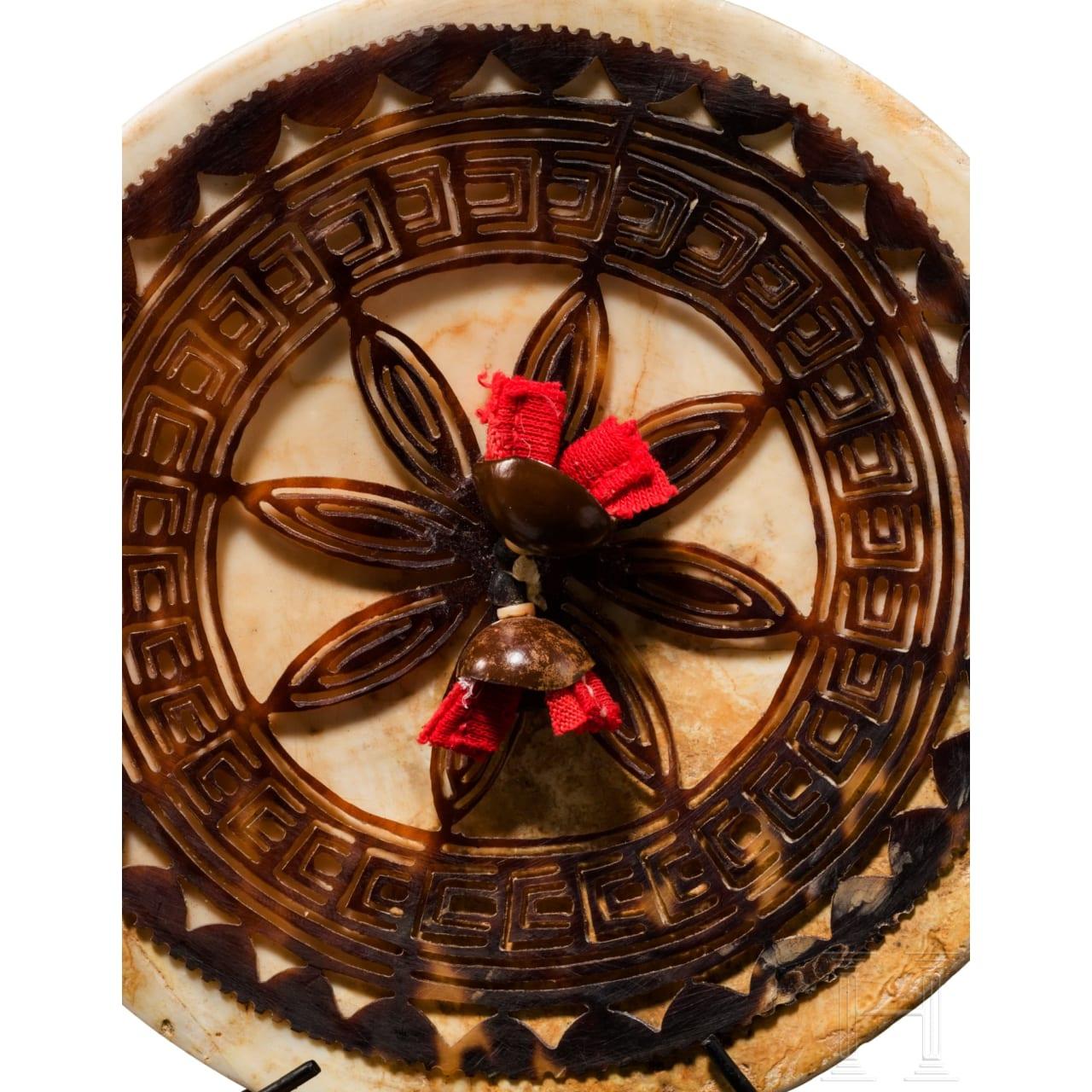 "A ""Dala"" or ""Kap Kap"" ornament from the Solomon Islands"