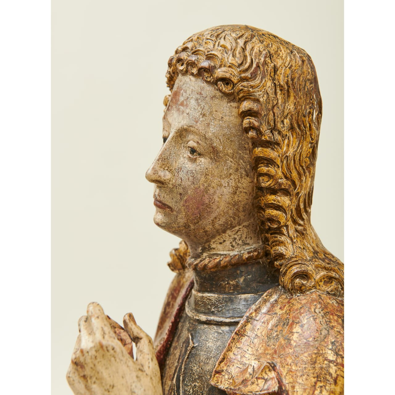 A South German sculpture of St. Florian, 2nd half of the 15th century