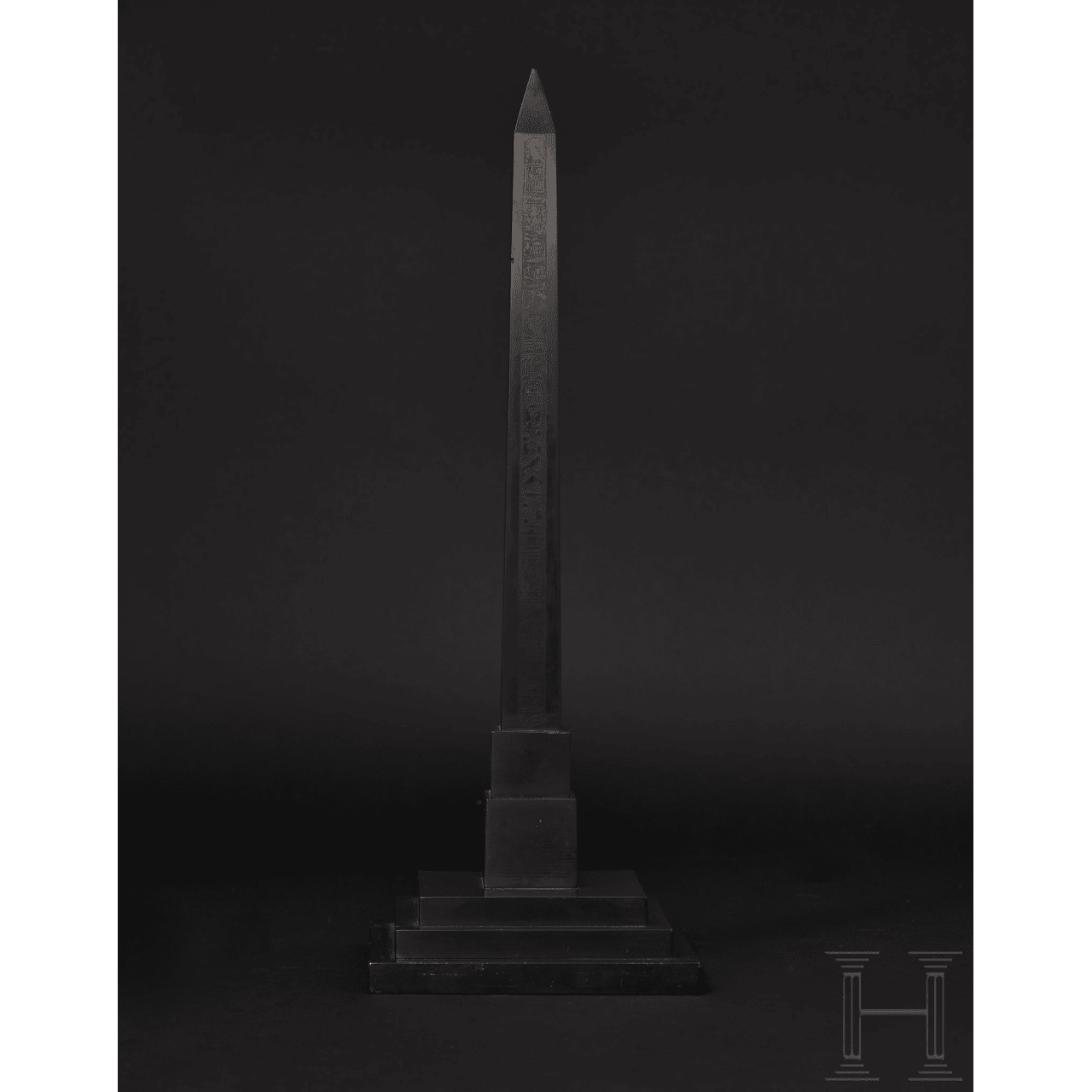 An English Bankes obelisk, 1st half of the 19th century