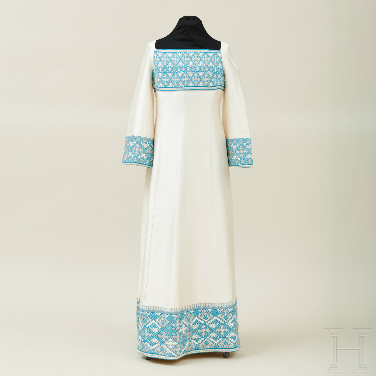 Farah Pahlavi (née Farah Diba), a gown worn by the Empress of Iran for state occasions, early 1970s