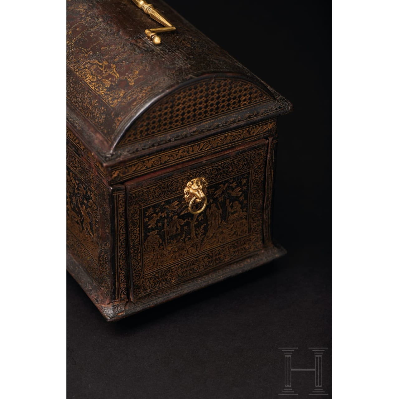 A fine Renaissance wedding casket, Antwerp, late 16th century
