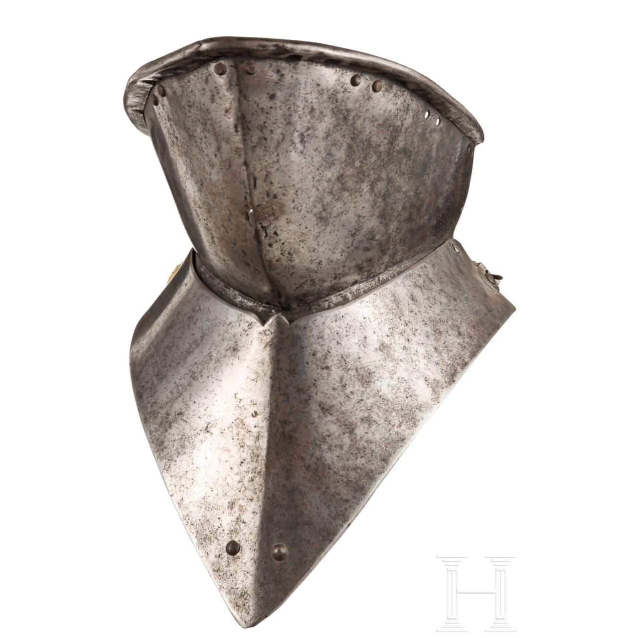 Spätgotischer Vorschnall-Bart, Spanien, um 1500
