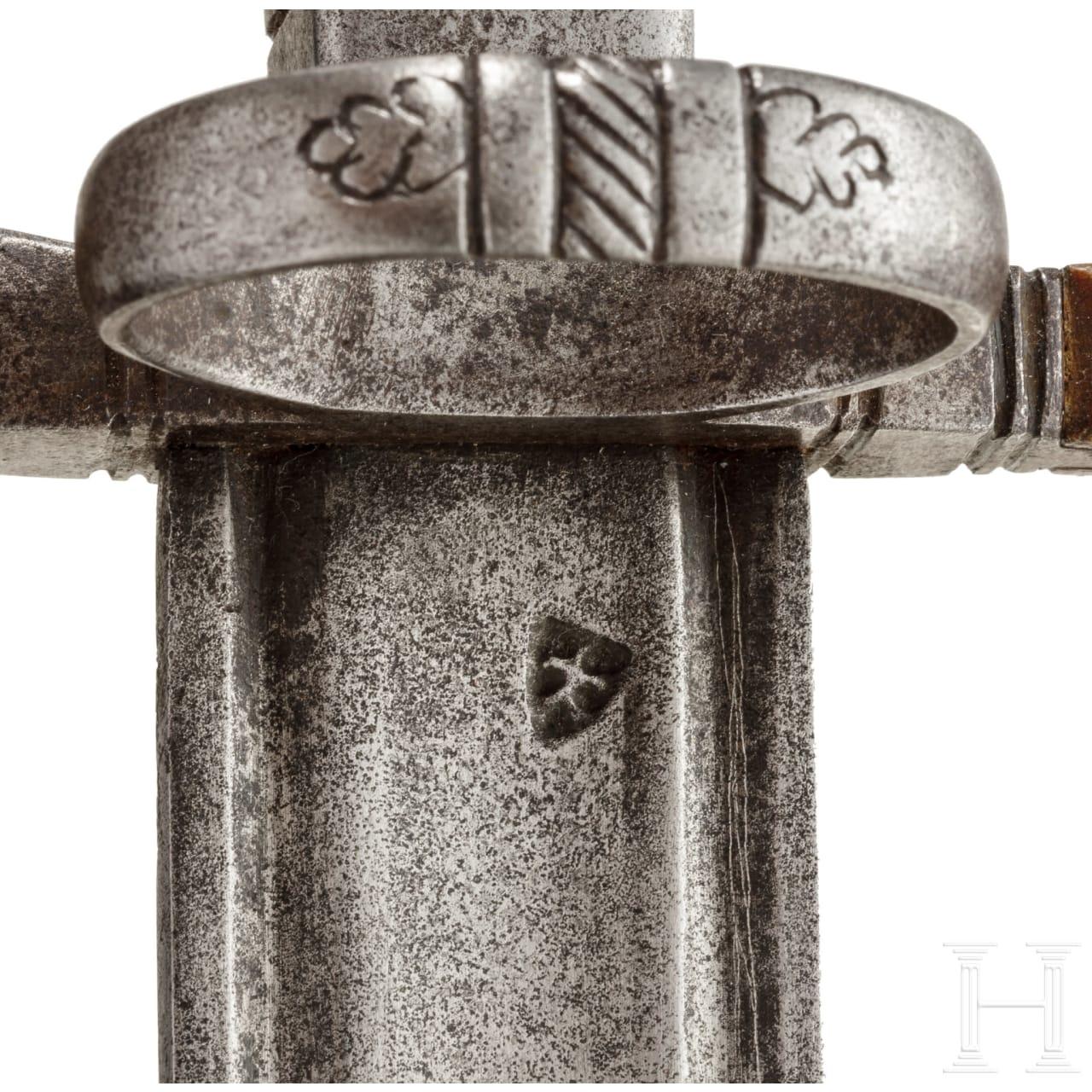 A German hunting sword, circa 1700