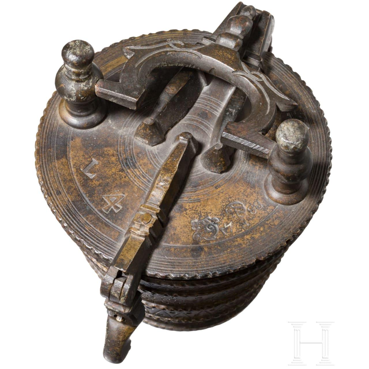 Bechergewicht zu vier Pfund, Nürnberg, datiert 1788