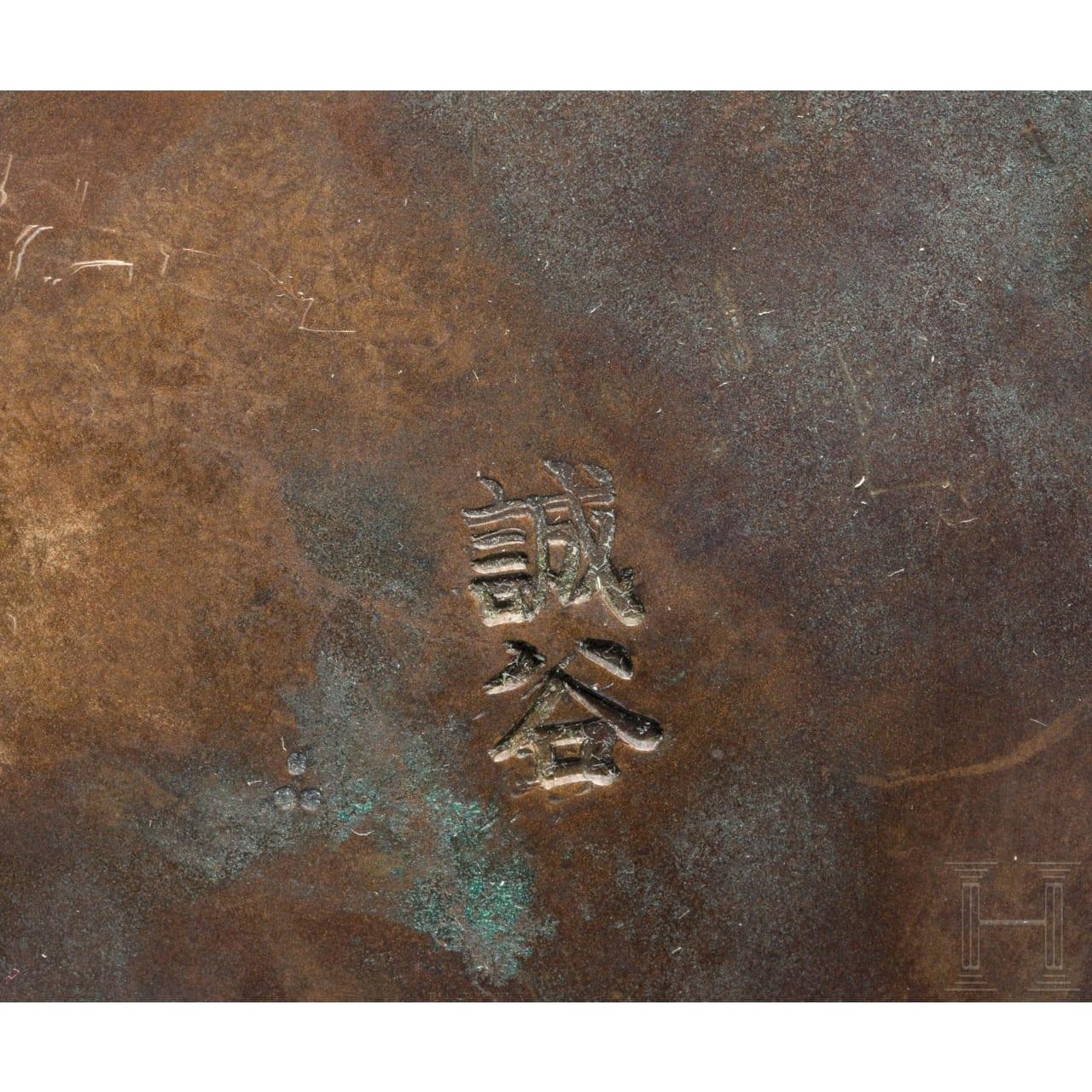 Bronzevase, Meiji-Periode