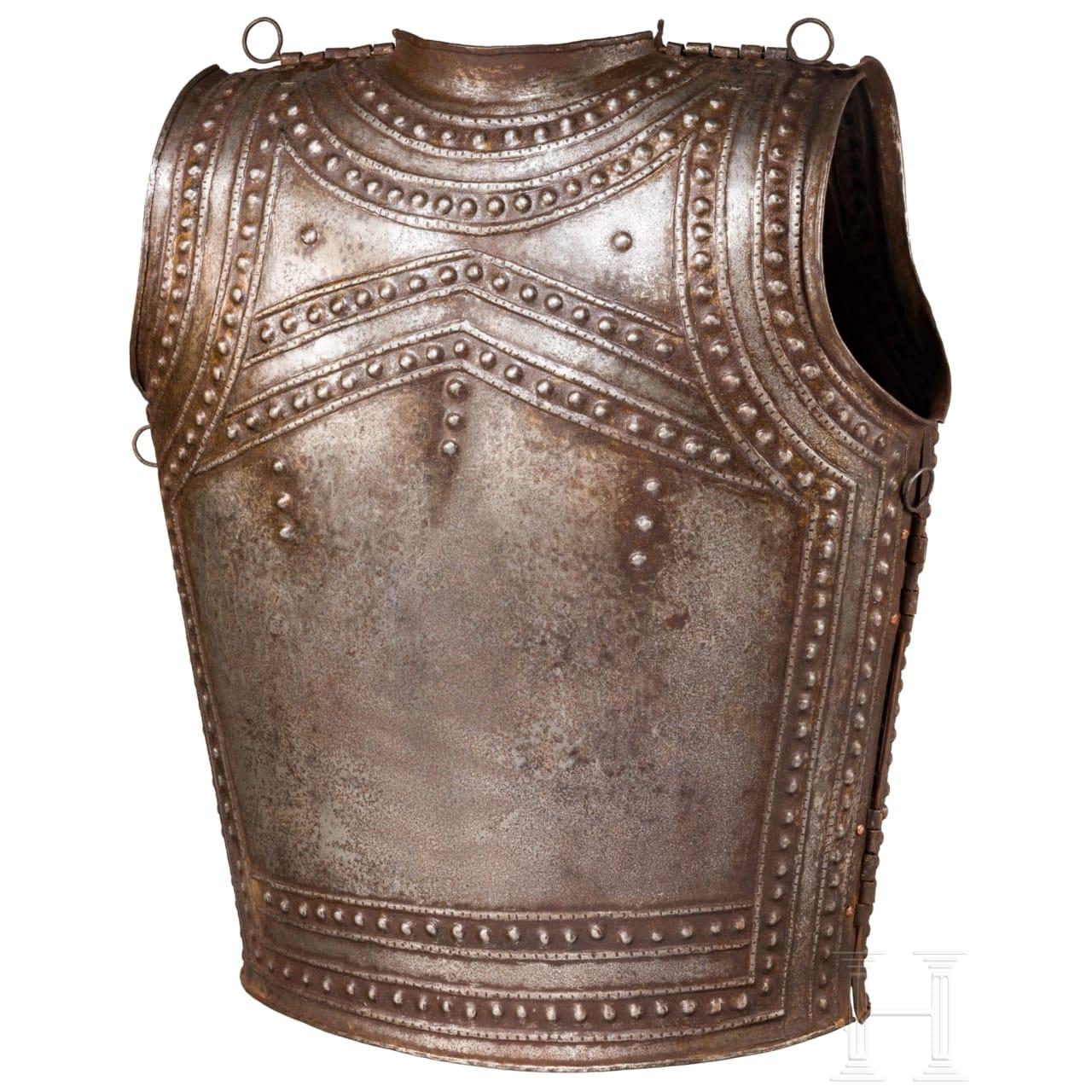 Eiserner Brustpanzer nach dem keltischen Vorbild aus Marmesse, Sammleranfertigung im Stil des 9./8. Jhdts. v. Chr.