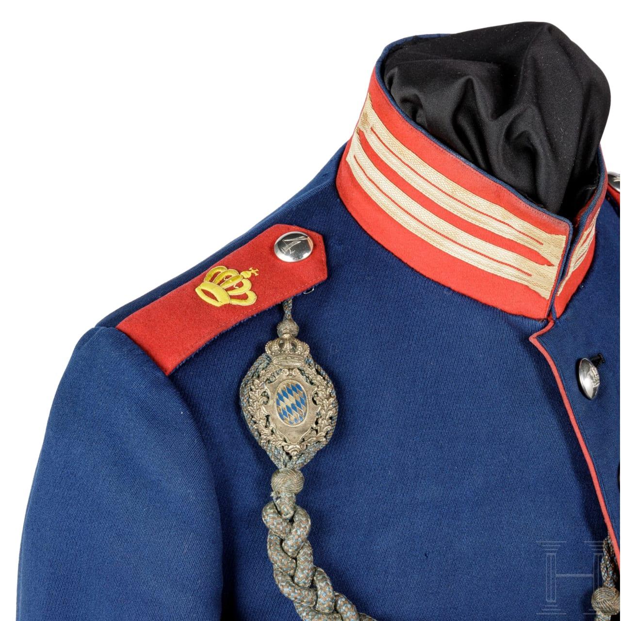 Waffenrock für Mannschaften im Königlich Bayerischen Infanterie-Leib-Regiment, um 1900