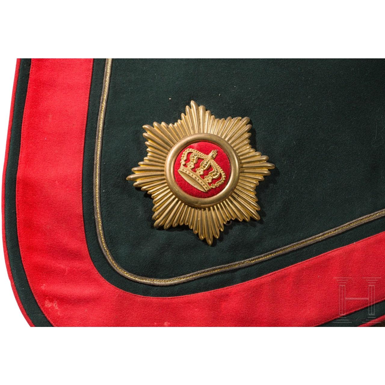 Paradeschabracke für Offiziere der Artillerie, bis 1914