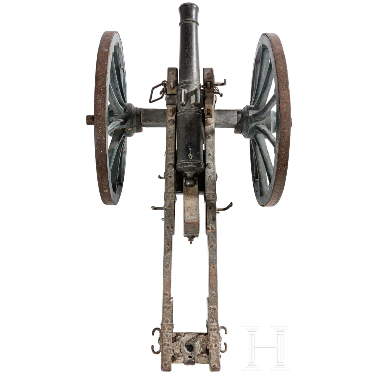 Miniatur-Feldgeschütz, Frankreich, um 1800