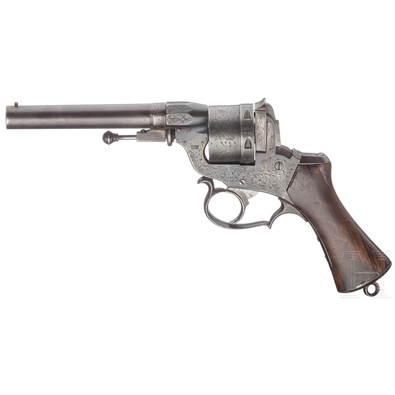 Revolver Perrin Modell 1859, 2. Ausführung