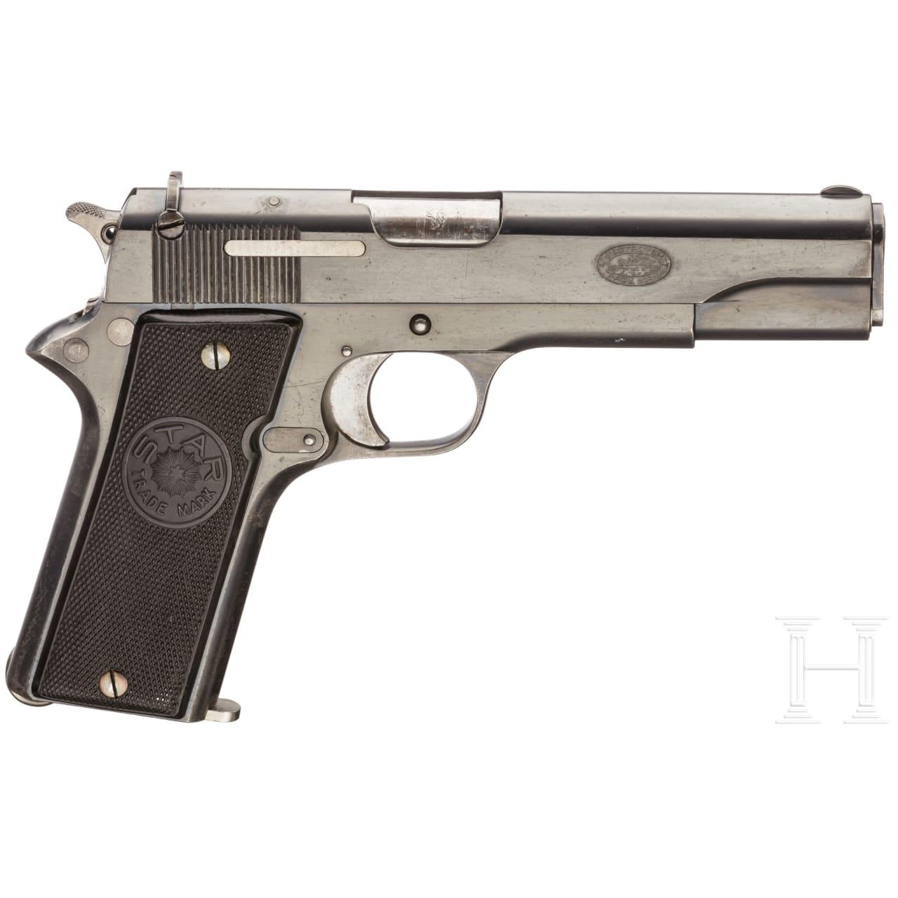"Star Mod. A, auch ""Modelo Militar 1922"" oder Mod. P im Kal. .45 ACP"