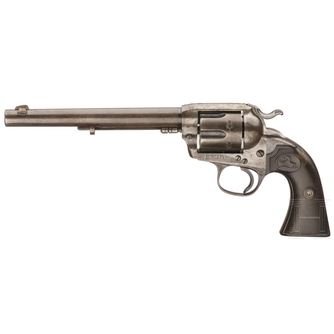Colt SAA Bisley, 1907