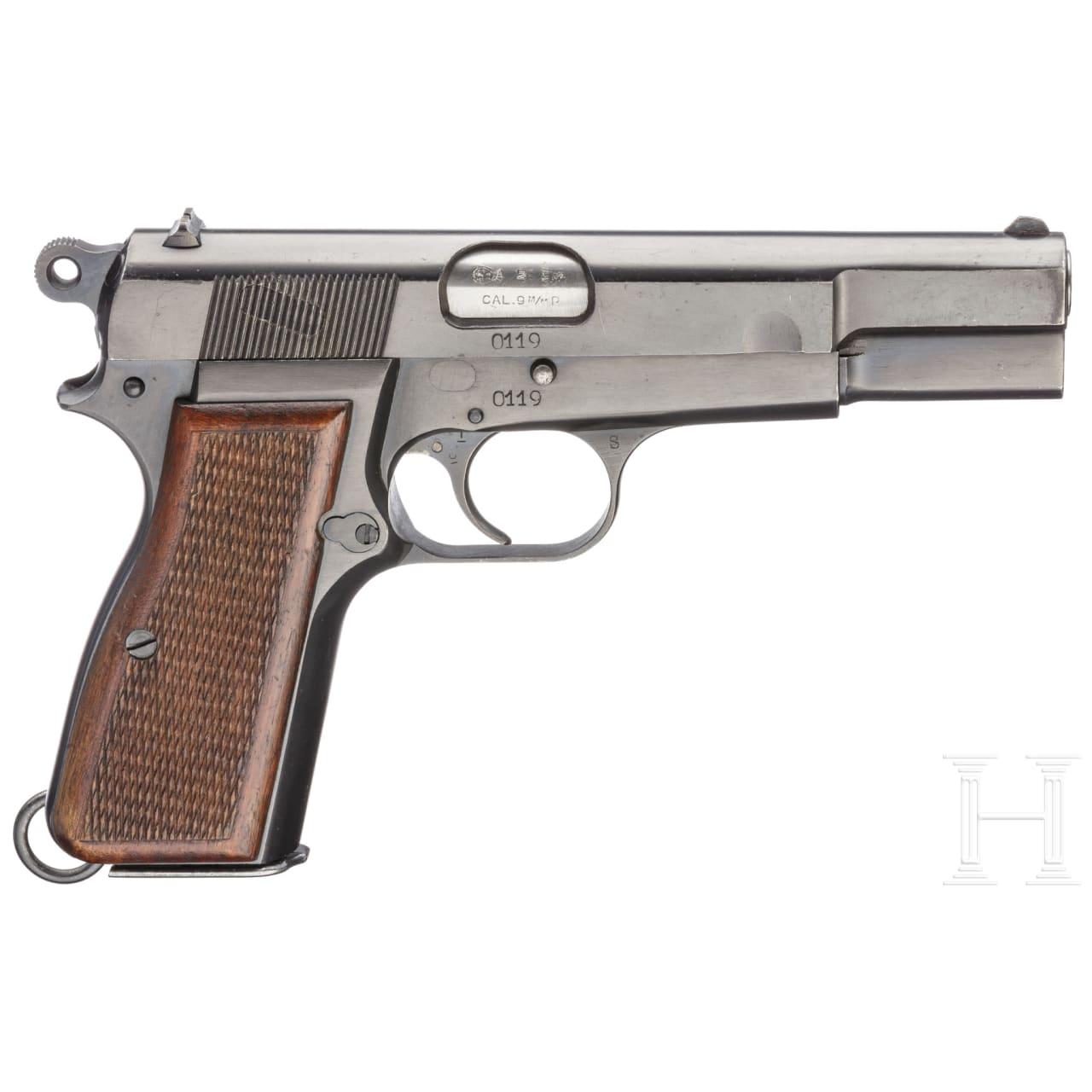 FN HP Mod. 35 (m/46 DK), im Karton