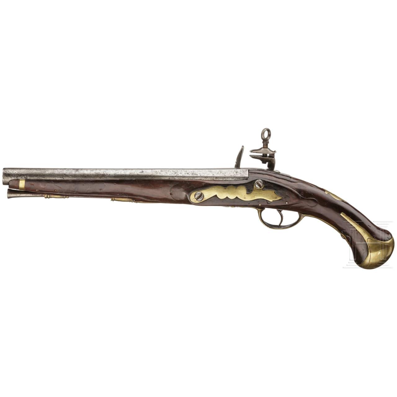 Kavallerie-Steinschlosspistole Mod. 1753, Fertigung 1782