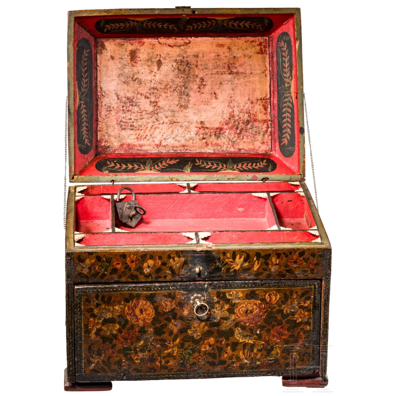 An Indo-Persion cabinet, 1st half of the 19th century