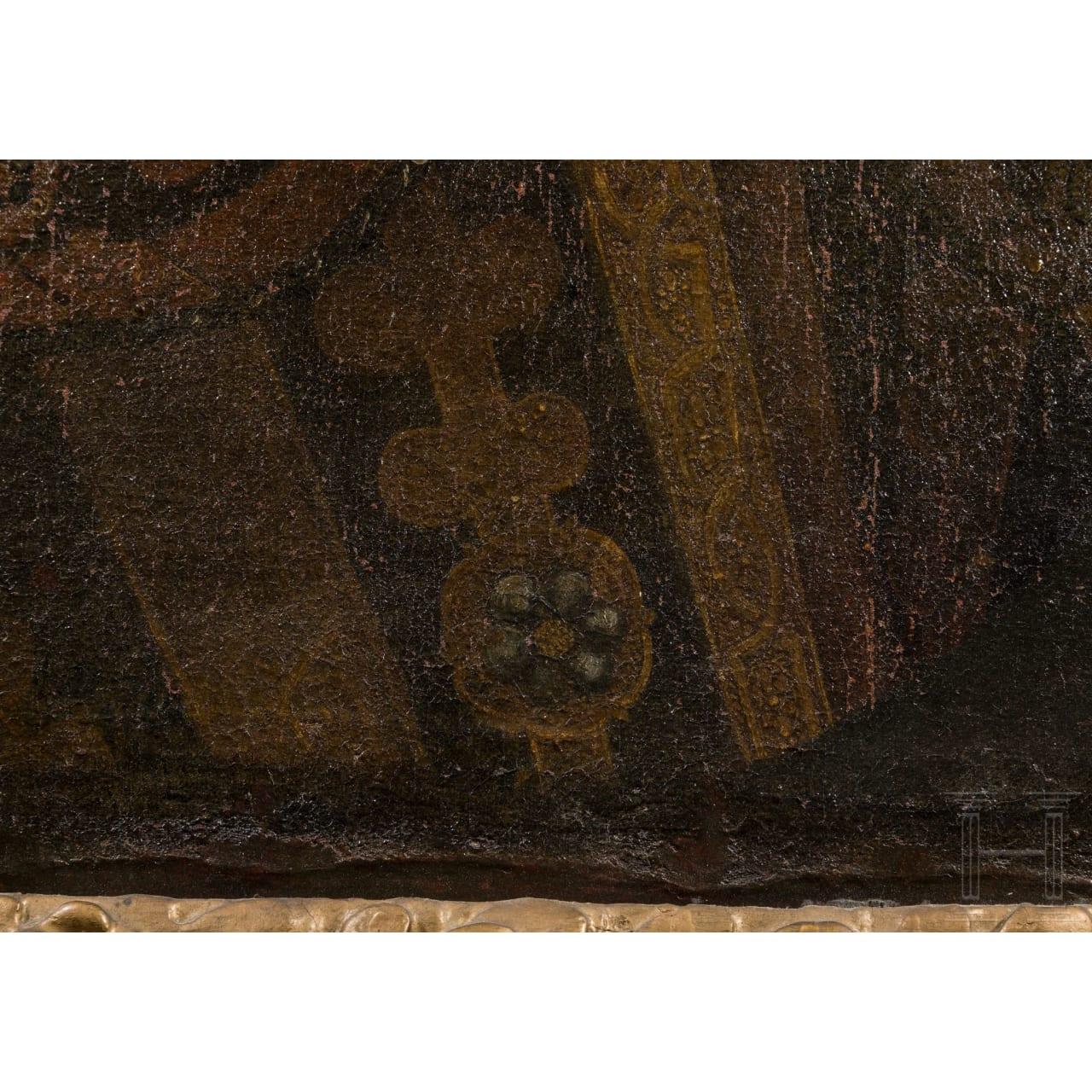August the Younger of Braunschweig-Wolfenbüttel – a portrait in armour, circa 1650