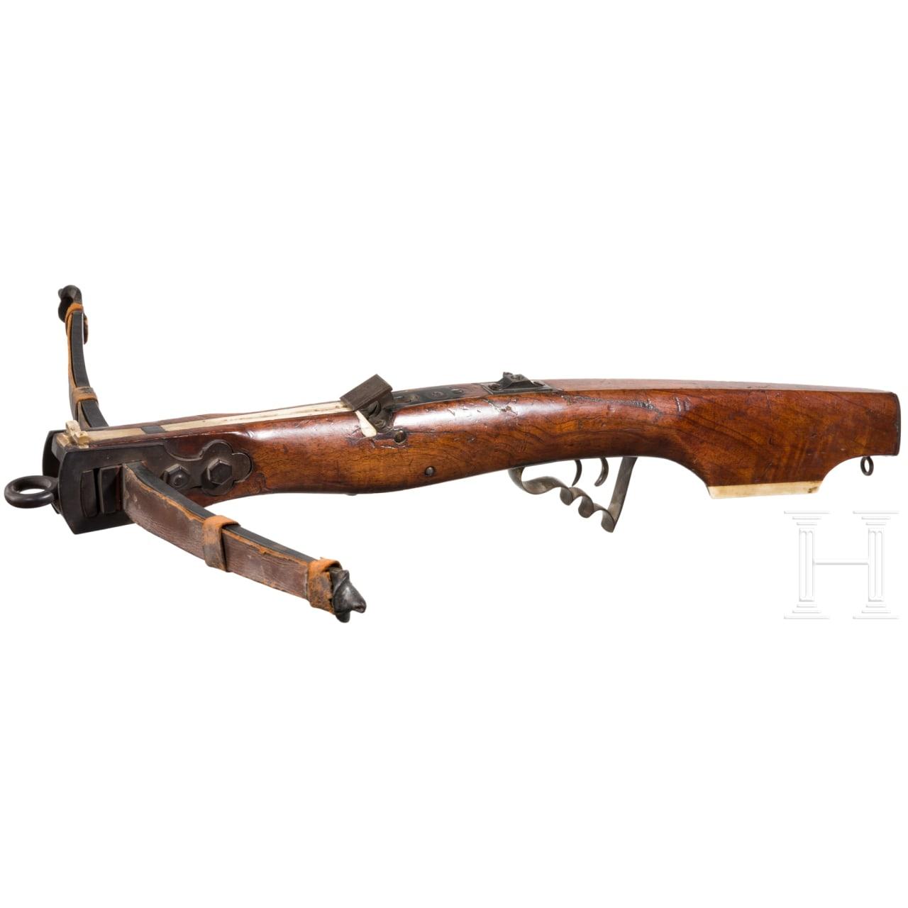Schützenarmbrust, Bayern, um 1900