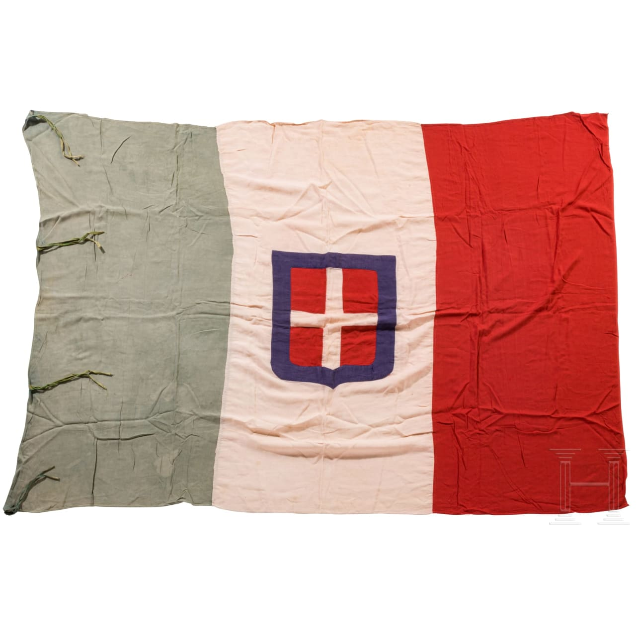 Italienische Flagge, 20. Jhdt.
