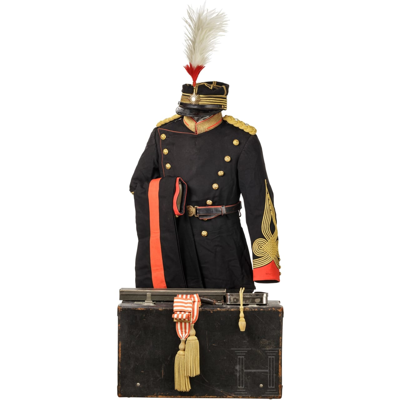 A WW II uniform ensemble for a Staff officer in the Imperial Japanese Army