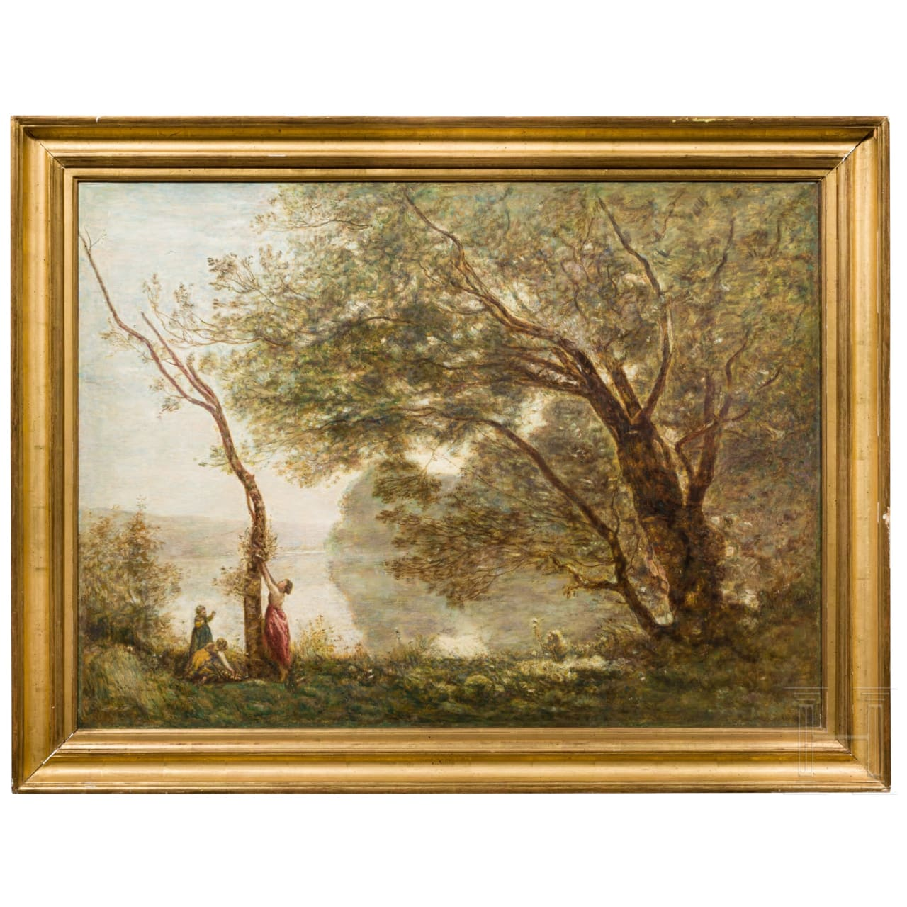 A French impressionist landscape, late 19th century