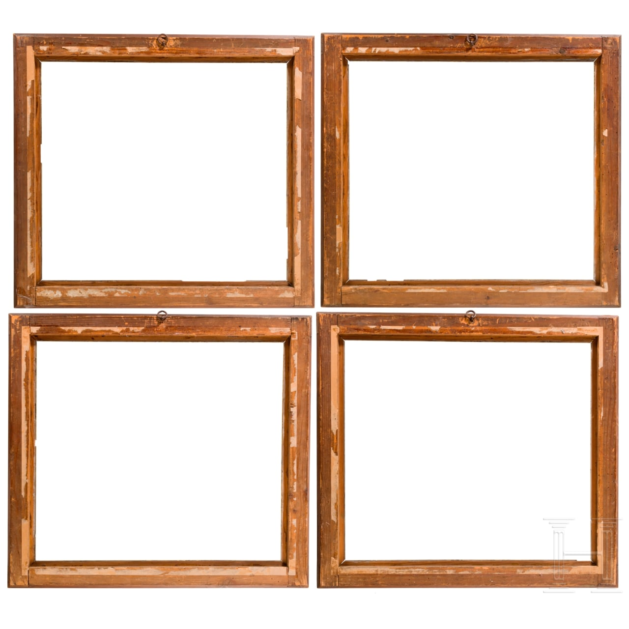 A set of four probably German neo-classical frames, 19th century