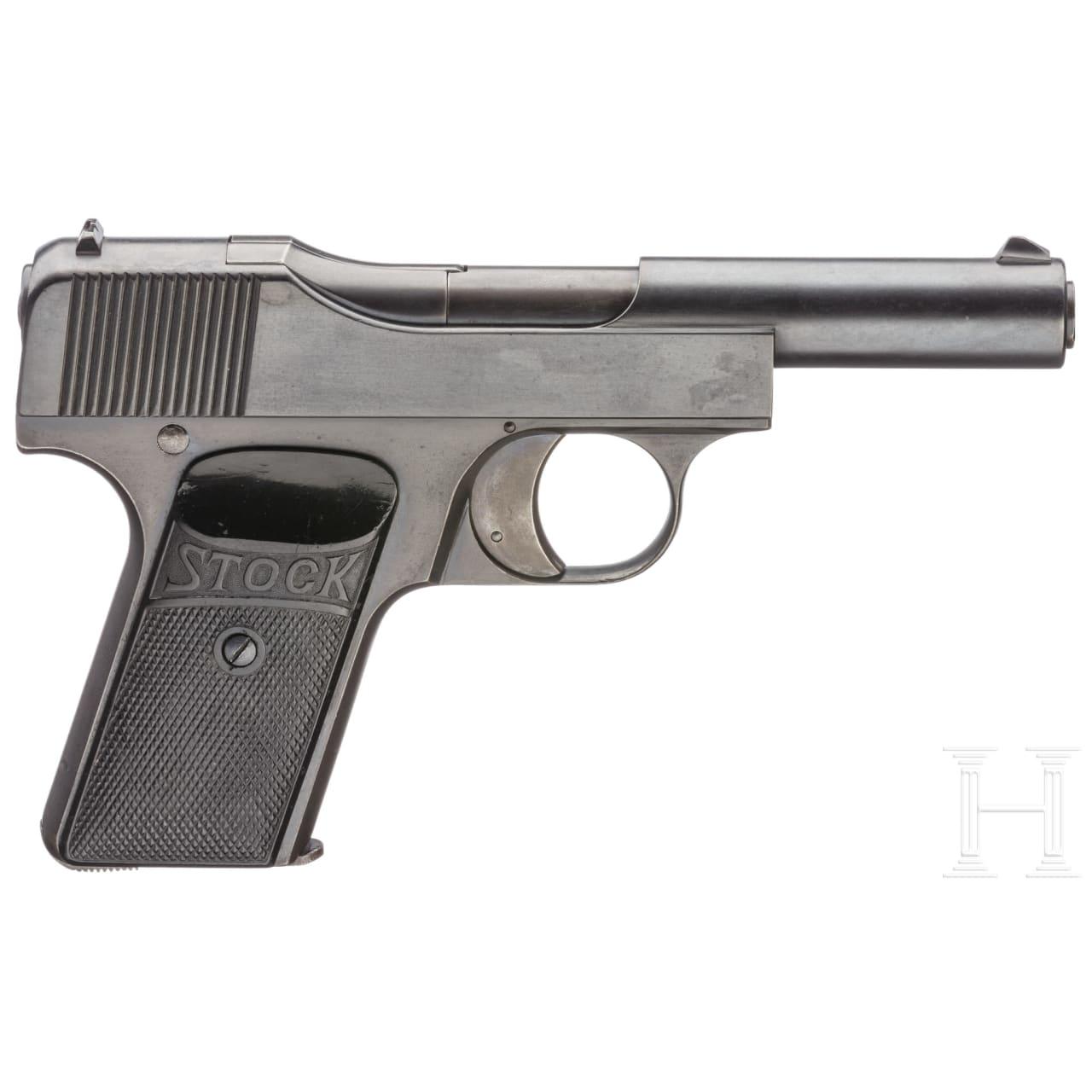 Stock pistol, 1st pattern
