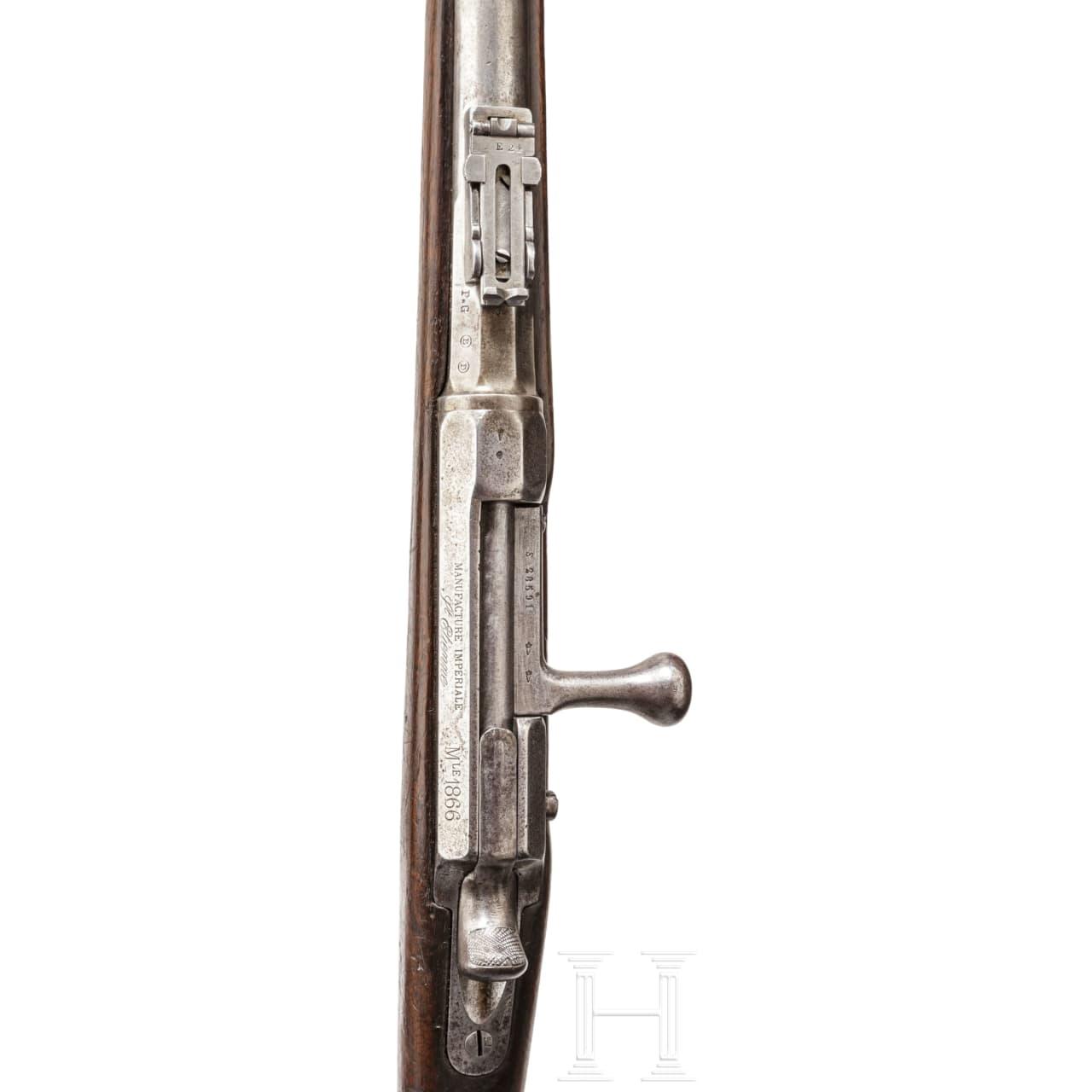 A M 1866 Chassepot needlefire rifle