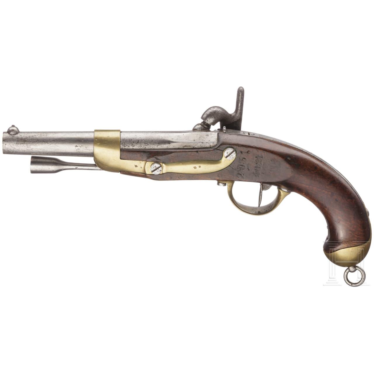A cavalry pistol M 1822 T bis neuf