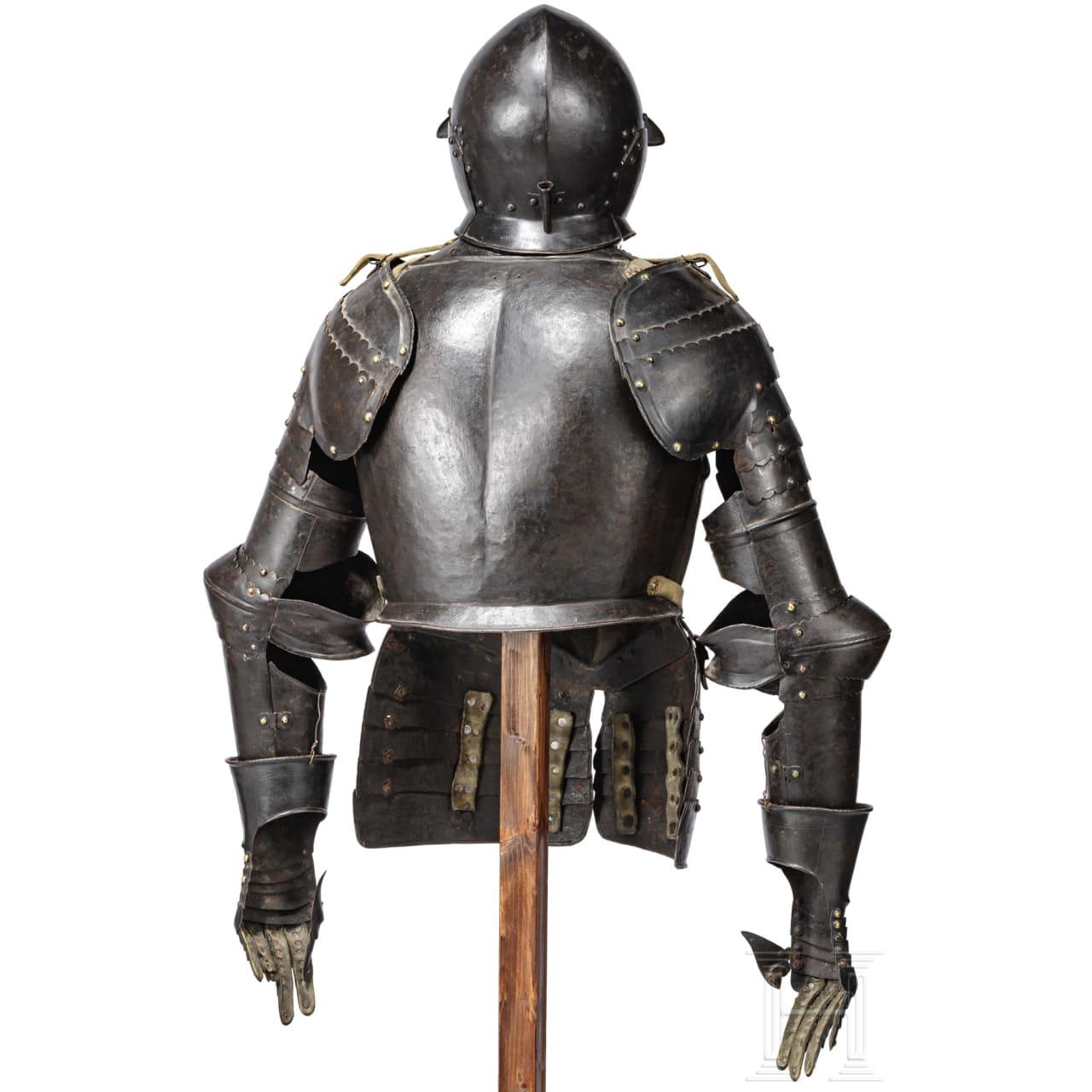 A South German half armour, late 16th century