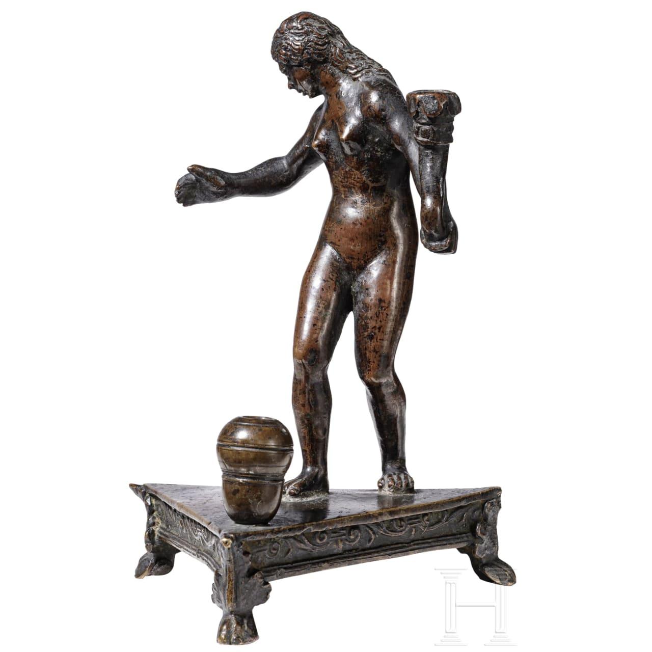 Venus - Tischbronze aus der Werkstatt Andrea Riccios (um 1471-1532, Padua)
