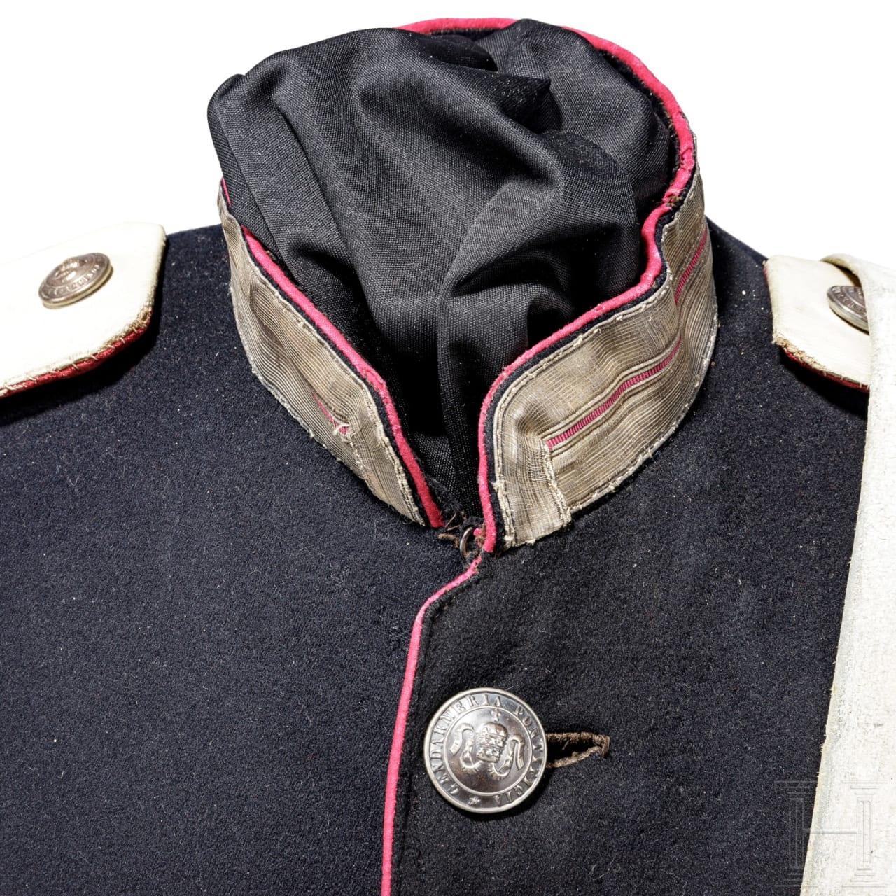 Uniform eines Reiters der Gendarmeria Pontificia, Anfang 20. Jhdt.