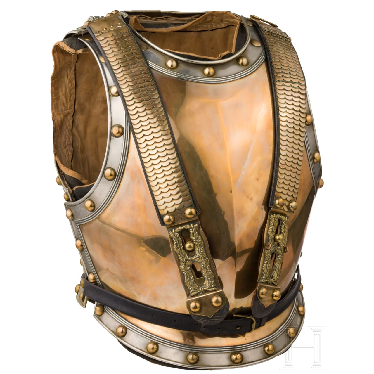 A cuirass for officers of the Guard Cuirassier Regiment or of the Cuirassier Regiment of Emperor Nicholas I of Russia (Brandenburgian) No. 6