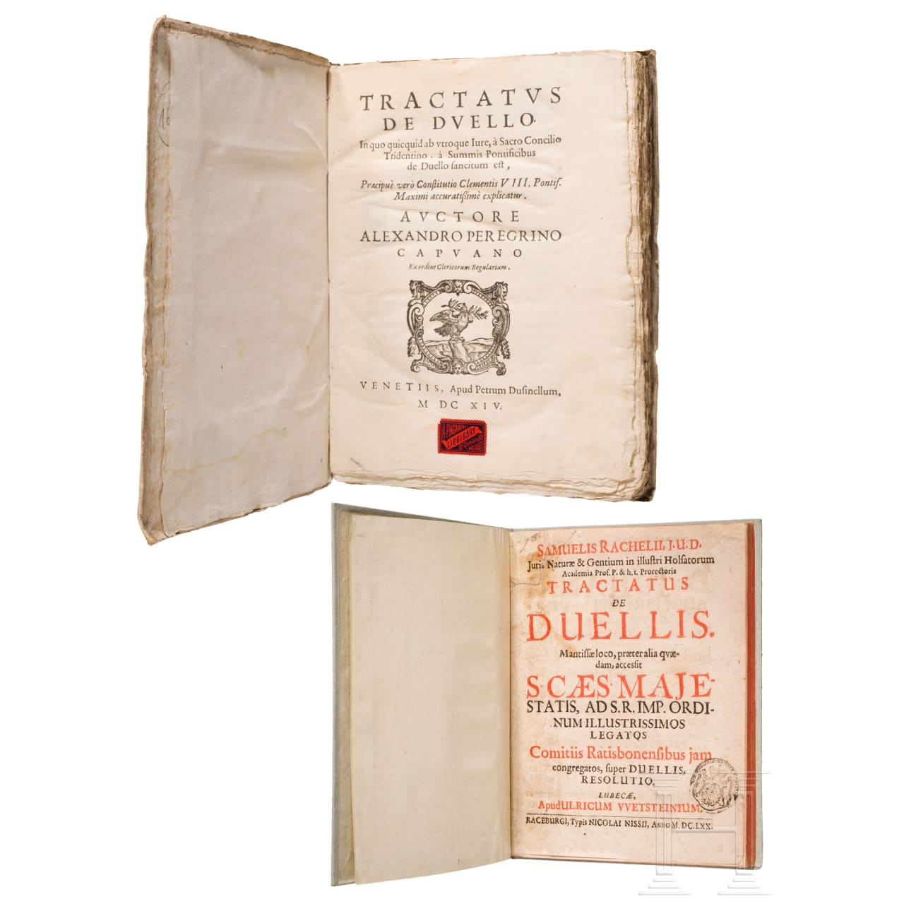 Two treatises on duels, 17th century