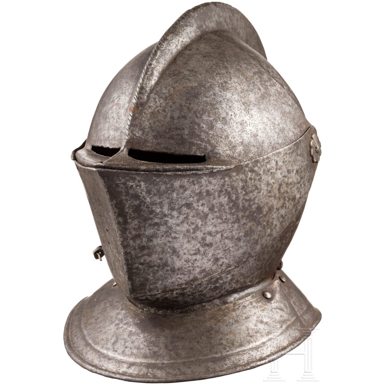 A North German/Flemish close helmet, circa 1580