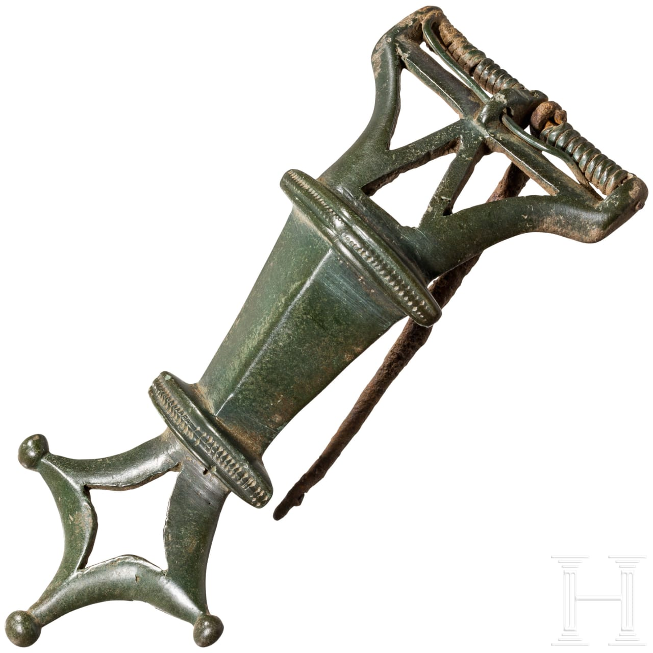 Große Bronzefibel, Kiever Kultur, 4. Jhdt.