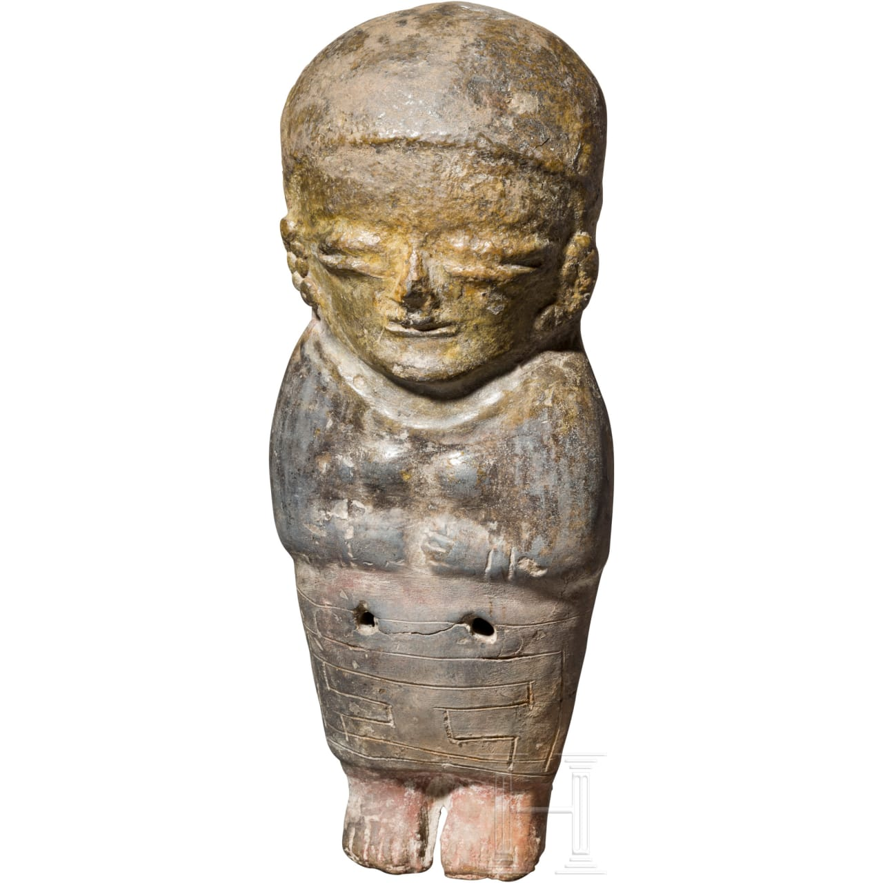 Pfeiffigur, Ecuador, Bahia-Kultur, 500 v. Chr. - 500 n. Chr.