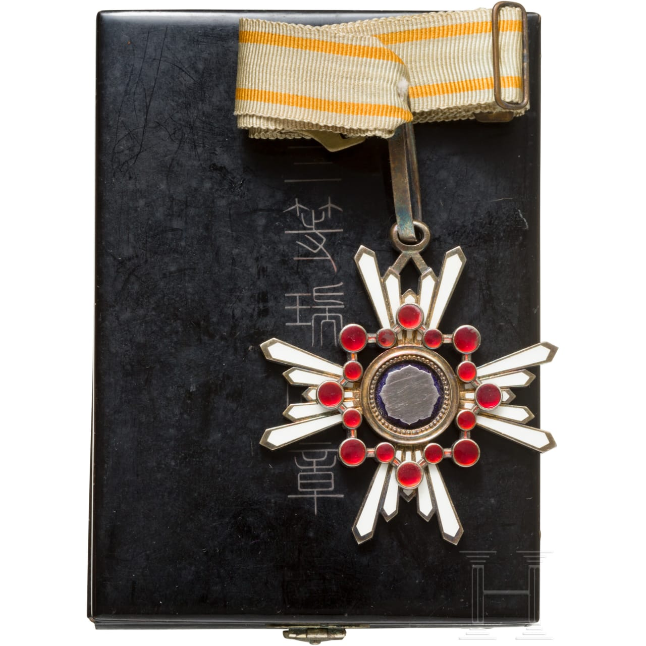 Order of the Holy Treasure, 3rd class with photo, 2nd world war