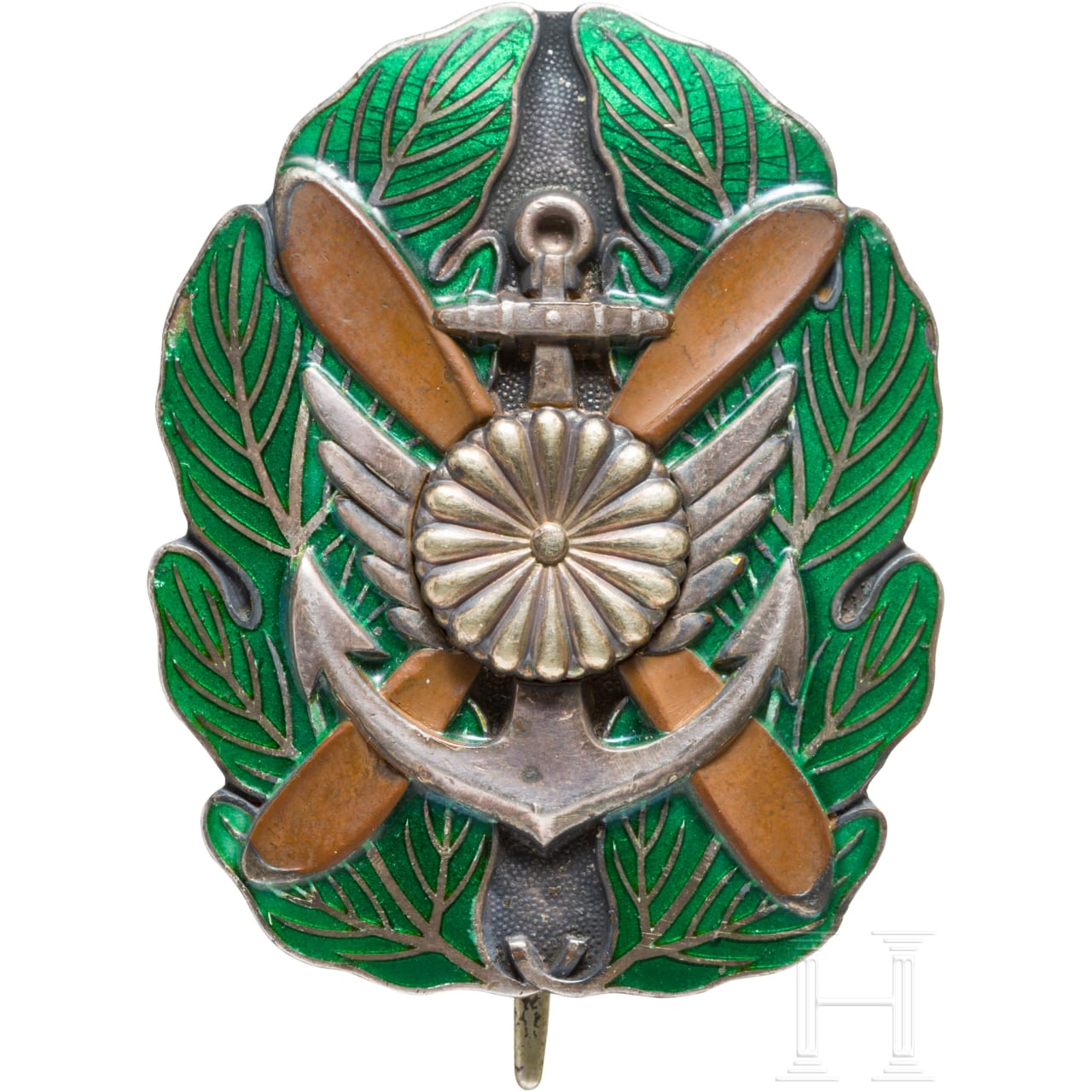 Merit badge of an officer of the naval pilots, 2nd world war