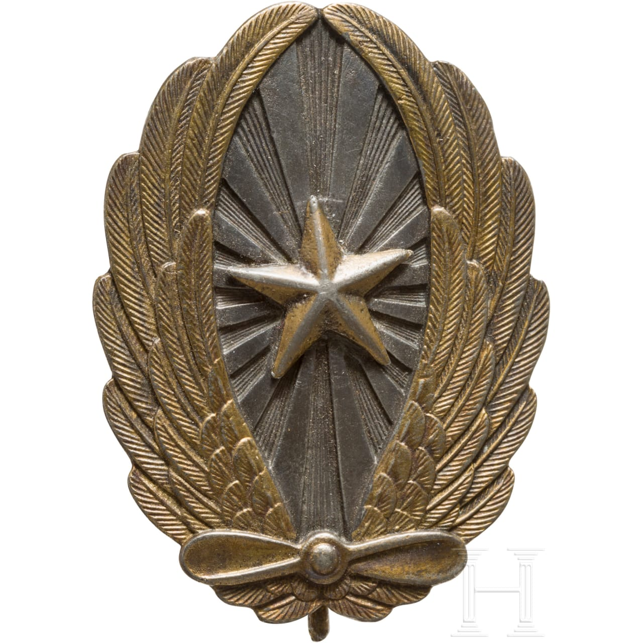 Flight badge for officers of the army, 2nd world war