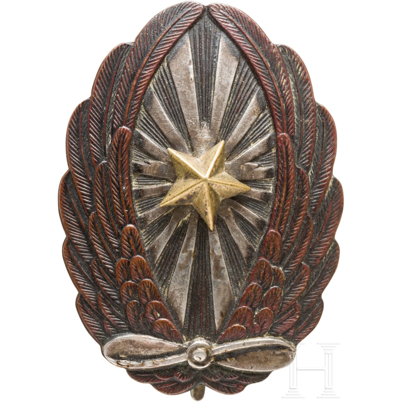 Flight badge for NCO´s of the army, 2nd world war