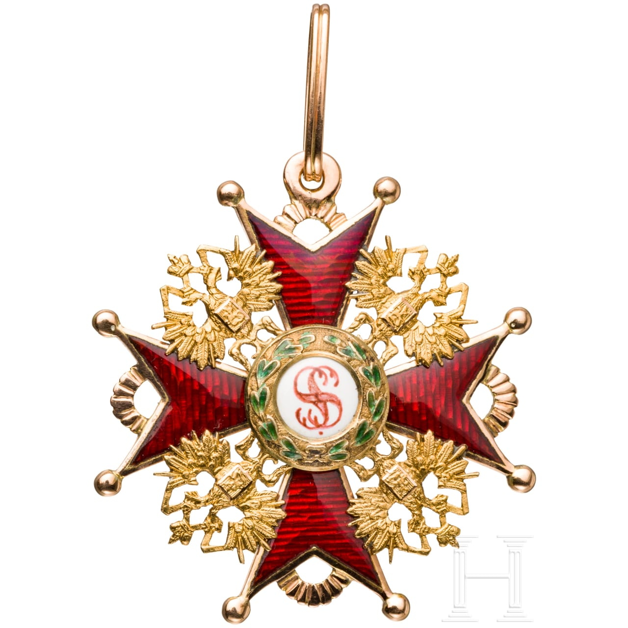 Order of Saint Stanislaus, 3rd class cross, dated 1863