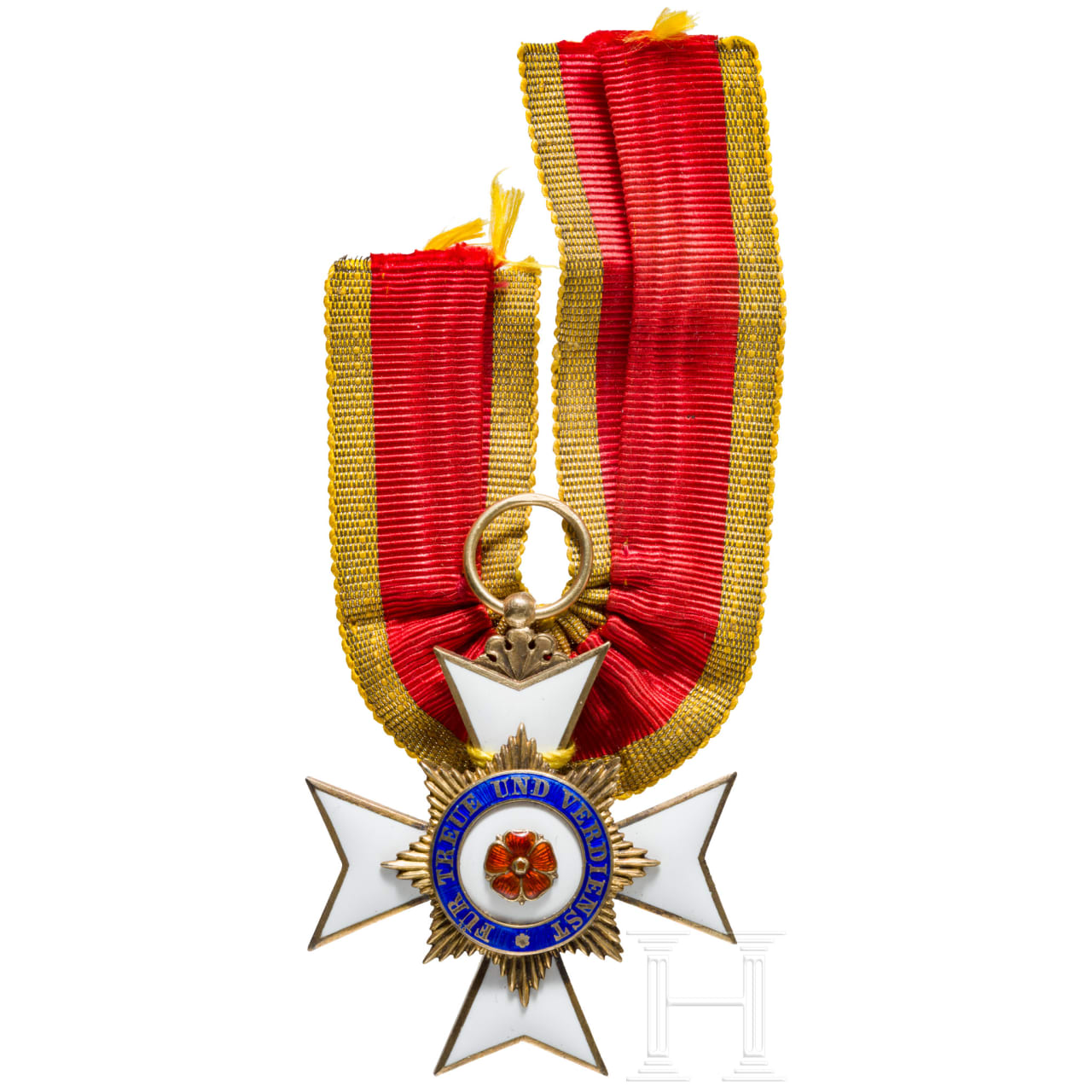 """House Order, Honor Cross 3rd class with cipher """"L"""""""