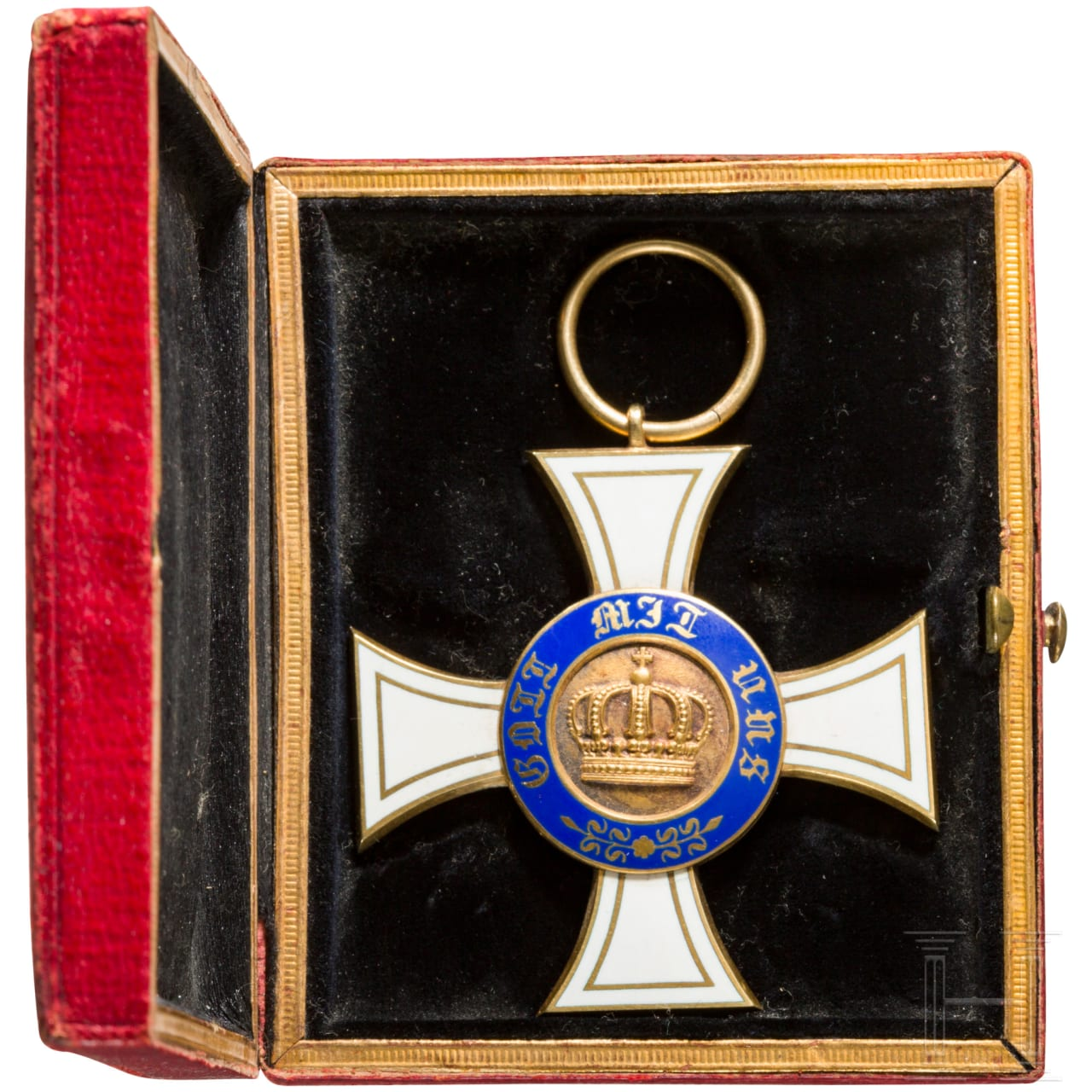 Crown Order 3rd class in case
