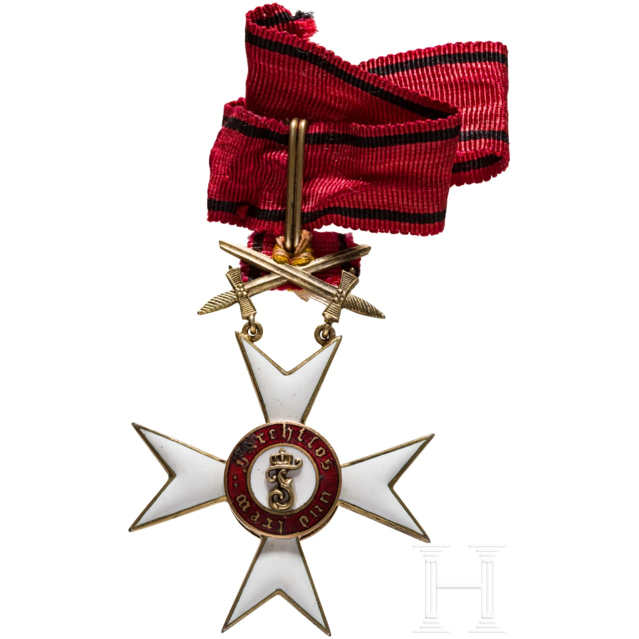 Order of the Wurttemberg Crown - Knight's Cross with swords