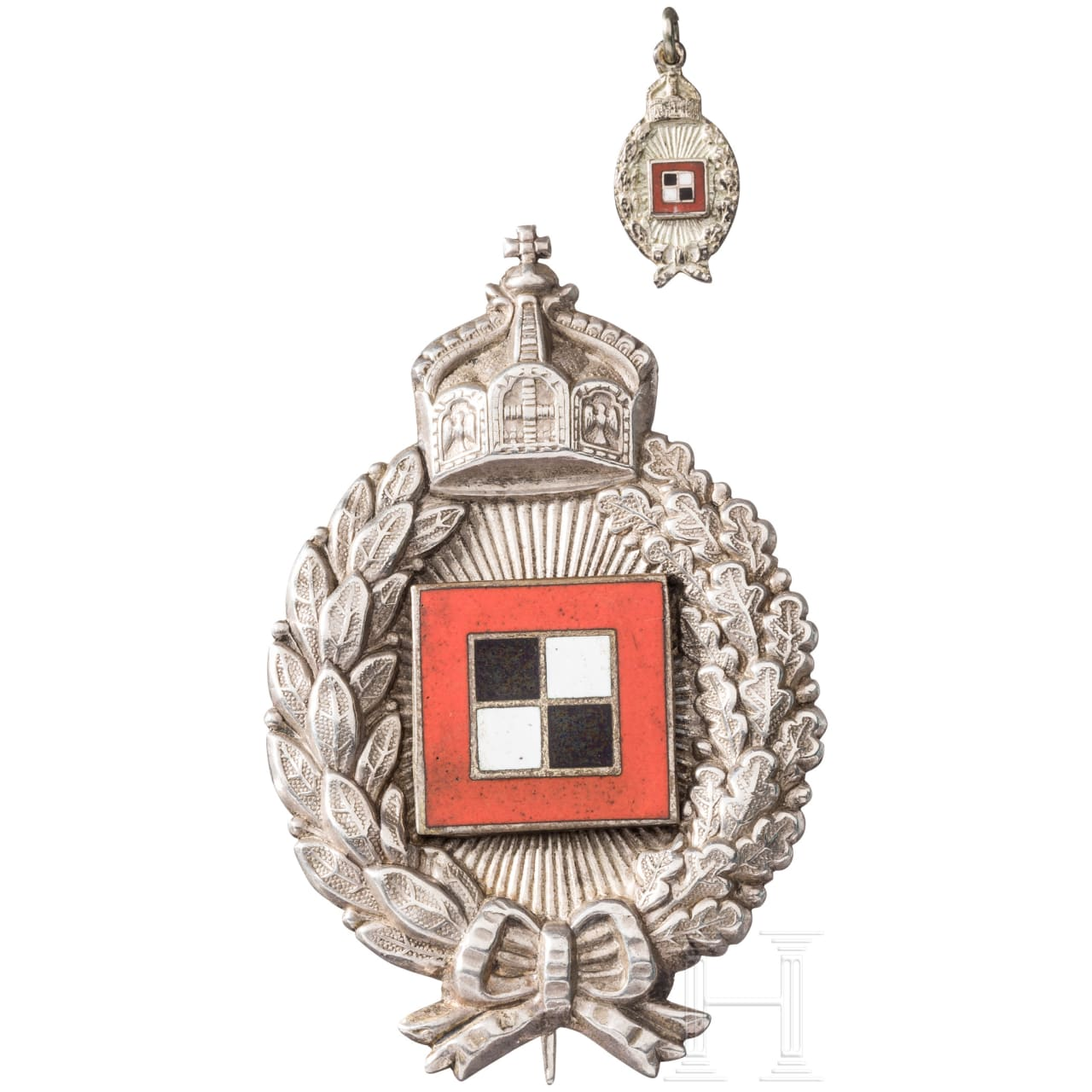 Badge for observation officers from aircraft (collector's production)