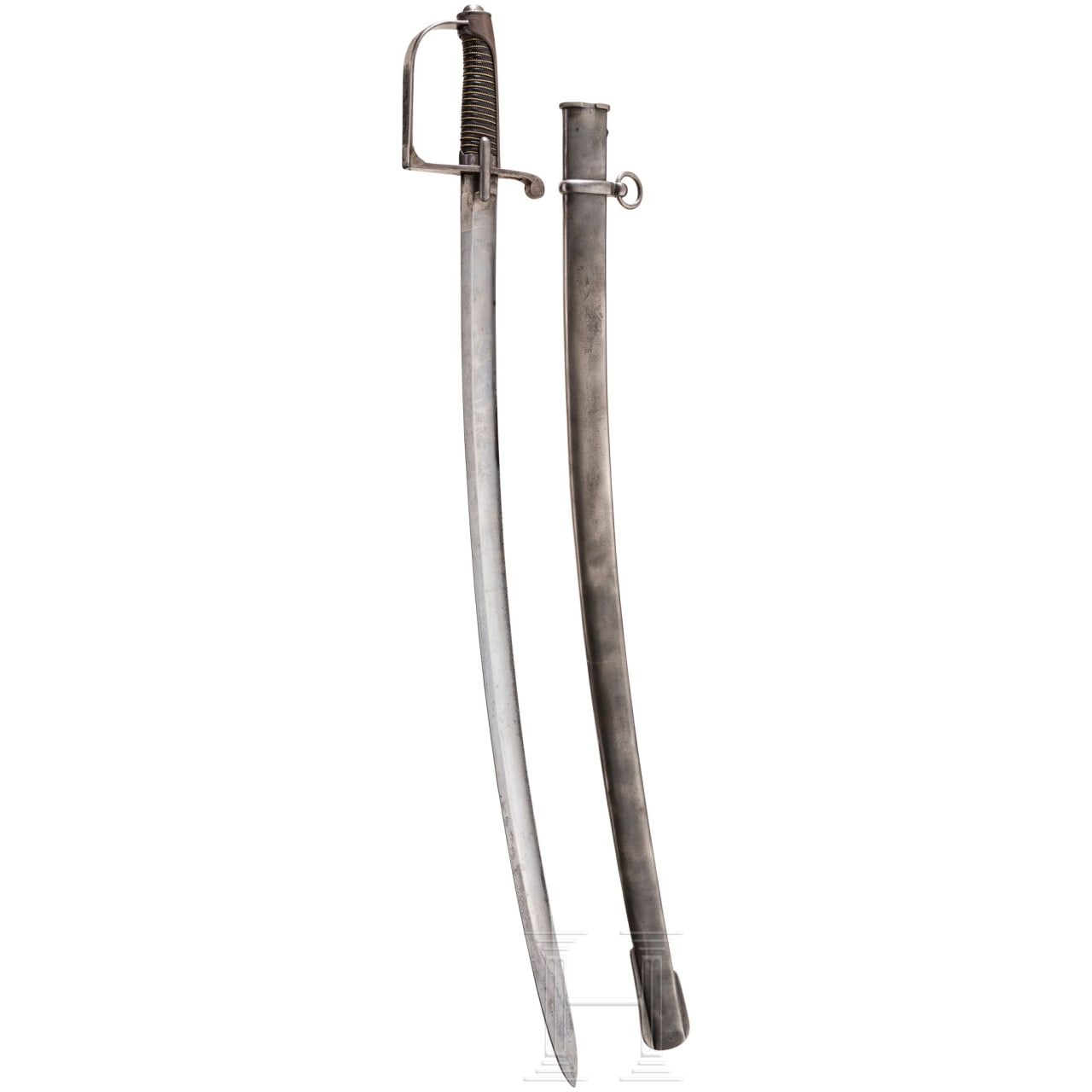 Sabre for light cavalry, enlisted men, ca. 1850