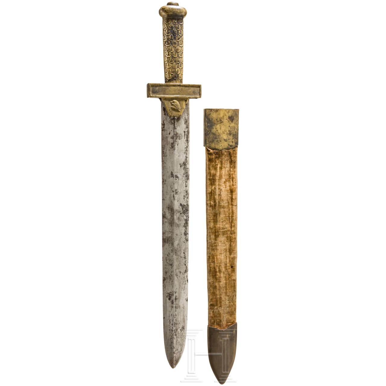 Short sword of the revolution period, late 18th century
